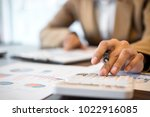 business financing accounting... | Shutterstock . vector #1022916085