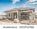 construction residential new... | Shutterstock . vector #1022919586