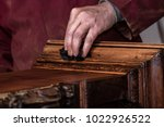 Hand Of A Carpenter In The...