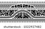 tribal tattoo ornament for... | Shutterstock .eps vector #1022927482