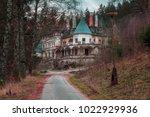 kunerad  slovakia   november 27 ...   Shutterstock . vector #1022929936