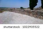 volubilis  roman remains ... | Shutterstock . vector #1022935522