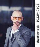 portrait of an businessman in... | Shutterstock . vector #1022947606