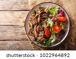 delicious food  slow cooked... | Shutterstock . vector #1022964892