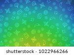 light blue  green vector layout ... | Shutterstock .eps vector #1022966266