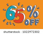 65   off. turquoise  red and... | Shutterstock .eps vector #1022972302