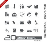 office   business icons   ... | Shutterstock .eps vector #102297508