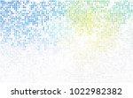 light blue  yellow vector... | Shutterstock .eps vector #1022982382