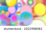 Colorful Glass Background.  Us...