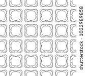 seamless geometric ornamental... | Shutterstock .eps vector #1022989858