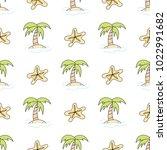 navy vector seamless patterns....   Shutterstock .eps vector #1022991682