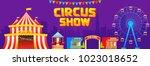 vector illustration of circus...   Shutterstock .eps vector #1023018652