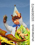 Small photo of CANTU - ITALY - February 11, 2018: Allegorical float of traditional carnival. The Nature. Carnival of COMO LAKE