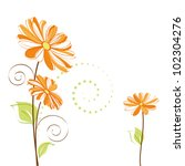 abstract springtime colorful... | Shutterstock .eps vector #102304276