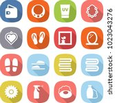 flat vector icon set   wallet... | Shutterstock .eps vector #1023043276