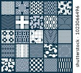 collection of vector abstract...   Shutterstock .eps vector #1023066496