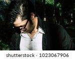 portrait failure guy ... | Shutterstock . vector #1023067906