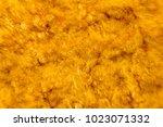 artificial vintage fur  fake...   Shutterstock . vector #1023071332