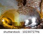 abandoned sanatorium in the... | Shutterstock . vector #1023072796