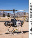 Small photo of White Sand, NM/USA - March 11 2014: White Sands Missile Museum Rotorcraft Drone