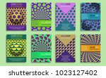 modern covers templates with... | Shutterstock .eps vector #1023127402