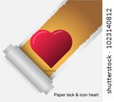 icon image. heart graphic.... | Shutterstock .eps vector #1023140812