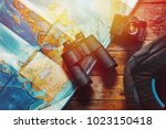adventure discovery scout... | Shutterstock . vector #1023150418