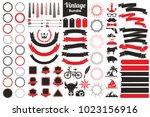 vintage retro vector logo for... | Shutterstock .eps vector #1023156916
