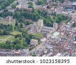 Bury St Edmunds From The Air