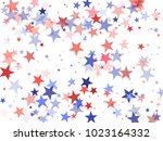 usa patriot day background with ... | Shutterstock .eps vector #1023164332