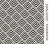 vector seamless lines mosaic... | Shutterstock .eps vector #1023176452