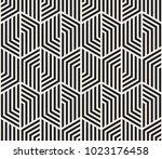 vector seamless pattern. modern ... | Shutterstock .eps vector #1023176458