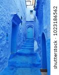 Blue Streets Of Moroccan...