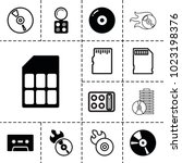compact icons. set of 13... | Shutterstock .eps vector #1023198376