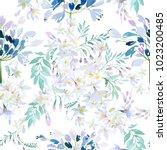 Watercolor Spring Flowers...
