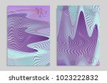 abstract cover template with... | Shutterstock .eps vector #1023222832