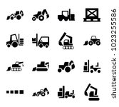 loader icons. set of 16... | Shutterstock .eps vector #1023255586