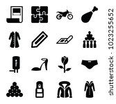 sketch icons. set of 16... | Shutterstock .eps vector #1023255652