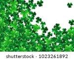 saint patricks day background... | Shutterstock .eps vector #1023261892