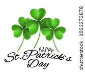 happy st. patricks day....   Shutterstock .eps vector #1023272878