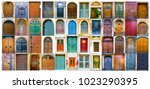 Collage Of Medieval Front Door...