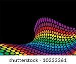 ocean swell inspired rainbow...   Shutterstock .eps vector #10233361