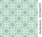 seamless geometric retro... | Shutterstock .eps vector #1023364195