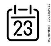 calendar or schedule icon....