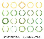 collection of different ... | Shutterstock .eps vector #1023376966