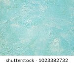 wall painted with brush strokes ... | Shutterstock . vector #1023382732