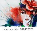Creative Hand Painted Fashion...