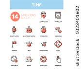 time concept   line design... | Shutterstock .eps vector #1023401602