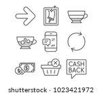 set of window cleaning ... | Shutterstock .eps vector #1023421972