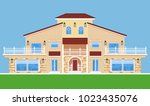 image of tree storey villa....